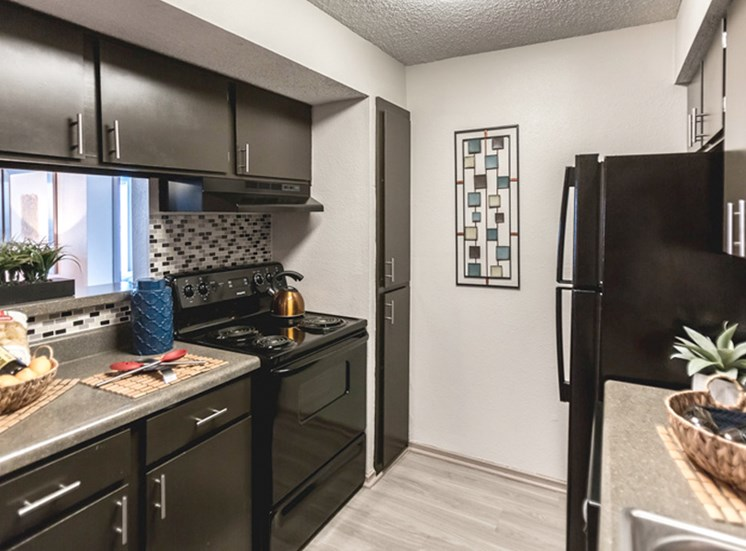 The Trestles Apartments in Raleigh NC Kitchen