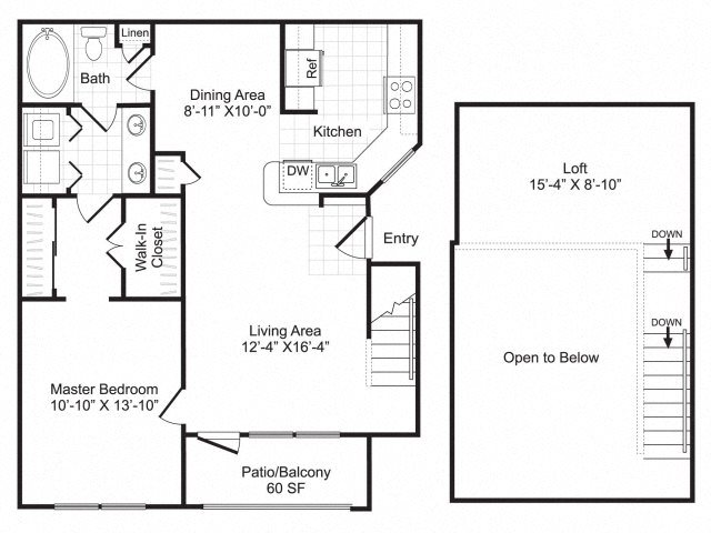 A4 with Loft Floor Plan 3