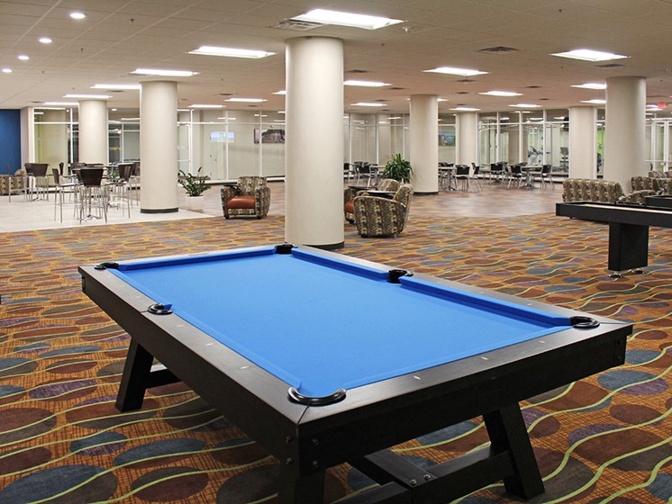 Pool Table at Residences at Halle, Cleveland, OH, 44113