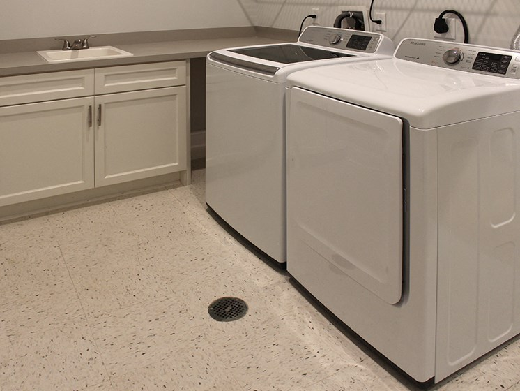 Spacious Laundry Room at Residences at Halle, Ohio