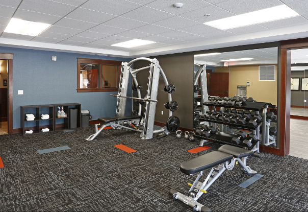 V2 Apartments Fitness Center