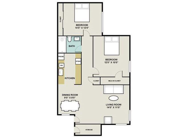 Copperwood Floor Plan 1