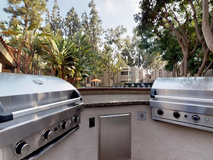 Mountain View Apartments BBQ Grills