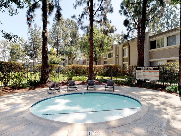 Mountain View Apartments Spa and Chairs
