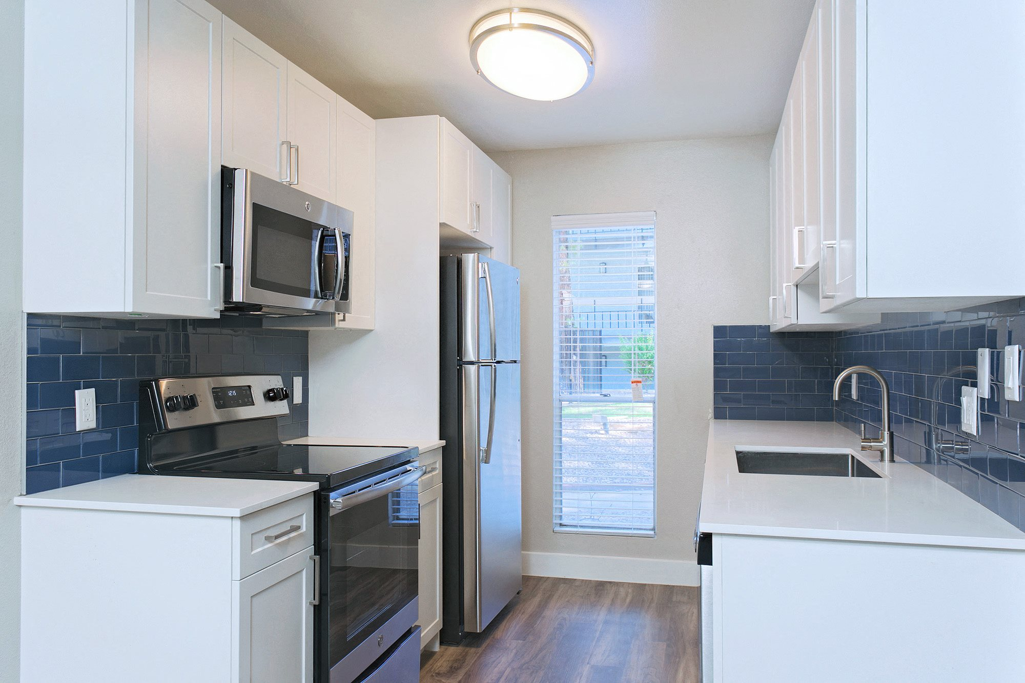 The Vicinity Apartments Renovated Kitchen