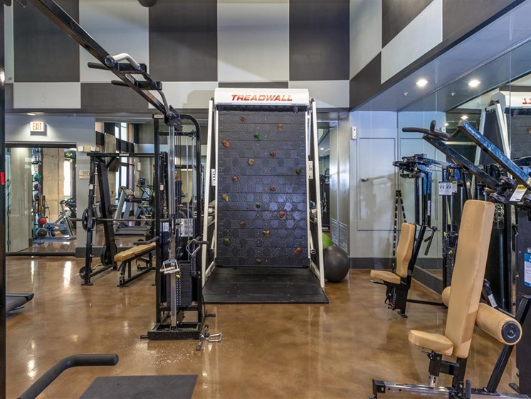 24 hour Fitness Center at The Madison at Town Center, Valencia, California