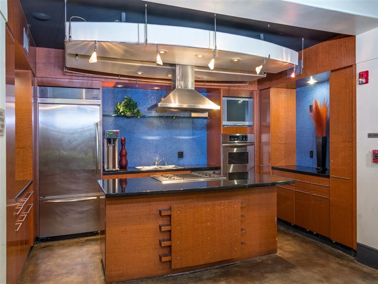 Upscale Stainless Steel Appliances at The Madison at Town Center, Valencia, CA, 91355