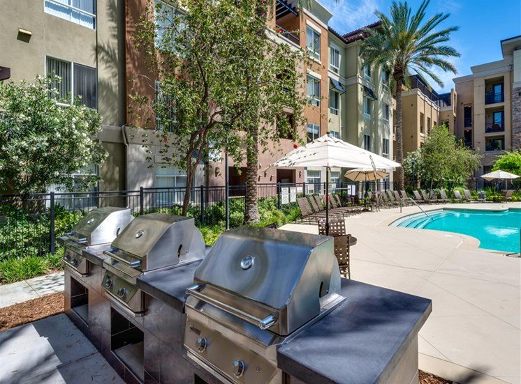 BBQ Pavilion at The Madison at Town Center, Valencia, CA, 91355