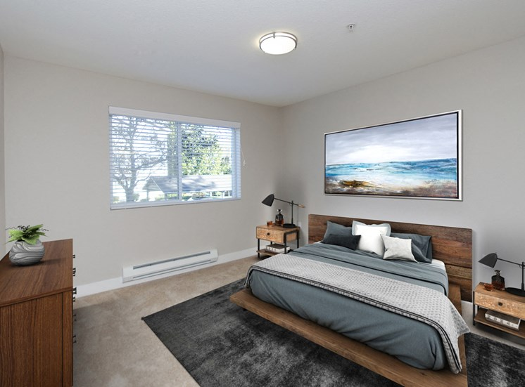 Mill Creek WA Apartments for Rent- Monterra Bedroom