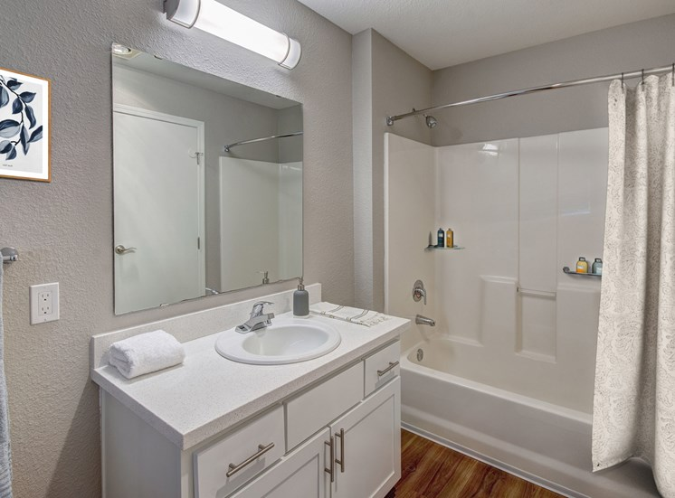 Luxury Apartments in Mill Creek WA - Monterra Bathroom