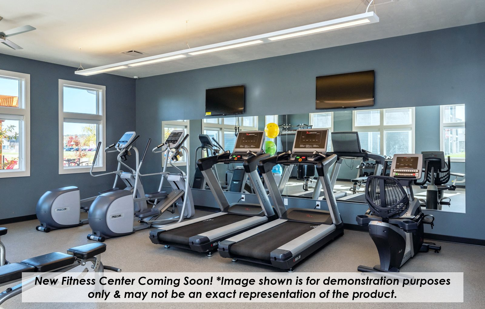New Fitness Center Example