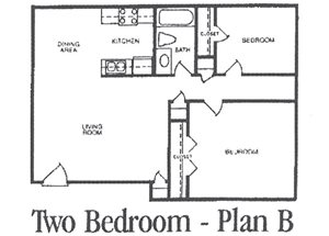TWO BEDROOM PLAN B
