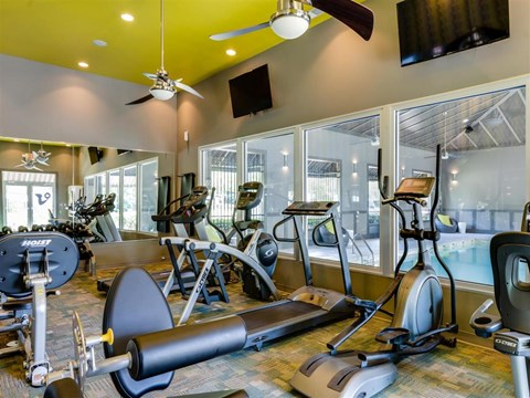 Harbor Creek Apartments Canton Fitness center