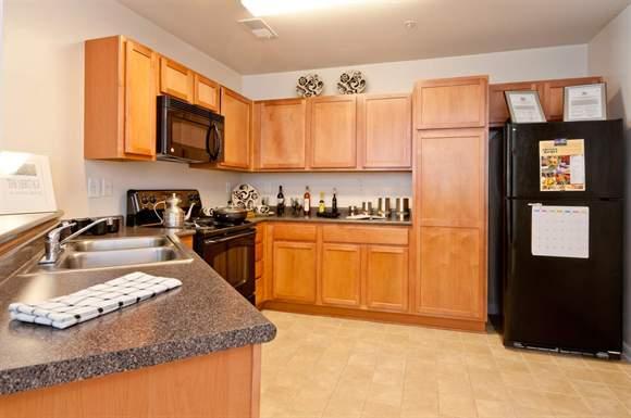 luxury apartment with spacious kitchen in Hampton VA