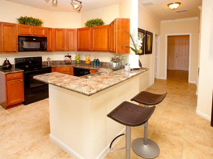 Kitchen and hallway view