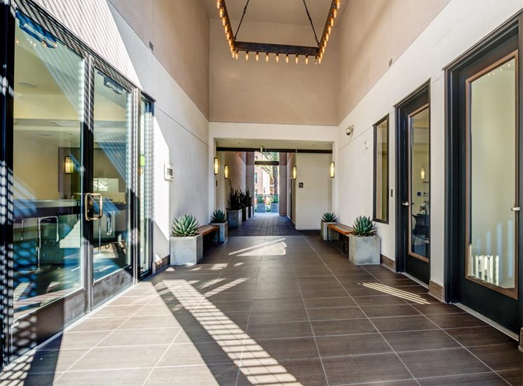 Modern indoors at Monterey Station Apartments