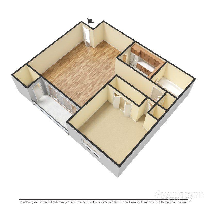The Birch Floor Plan 1
