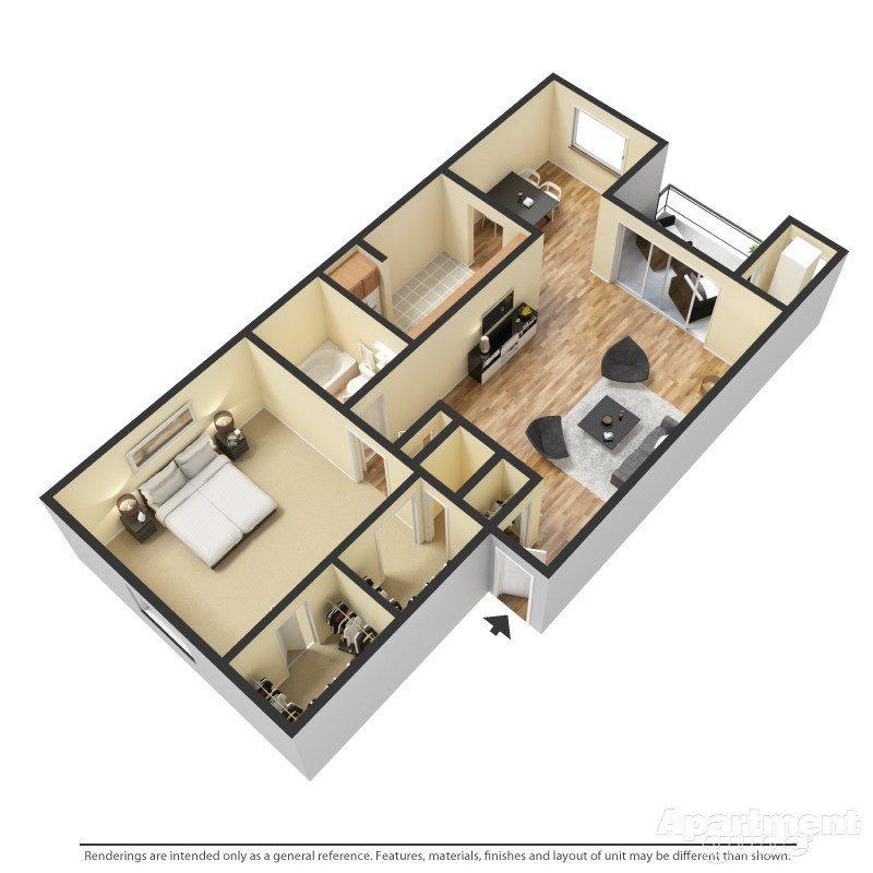 The Cedar Floor Plan 3