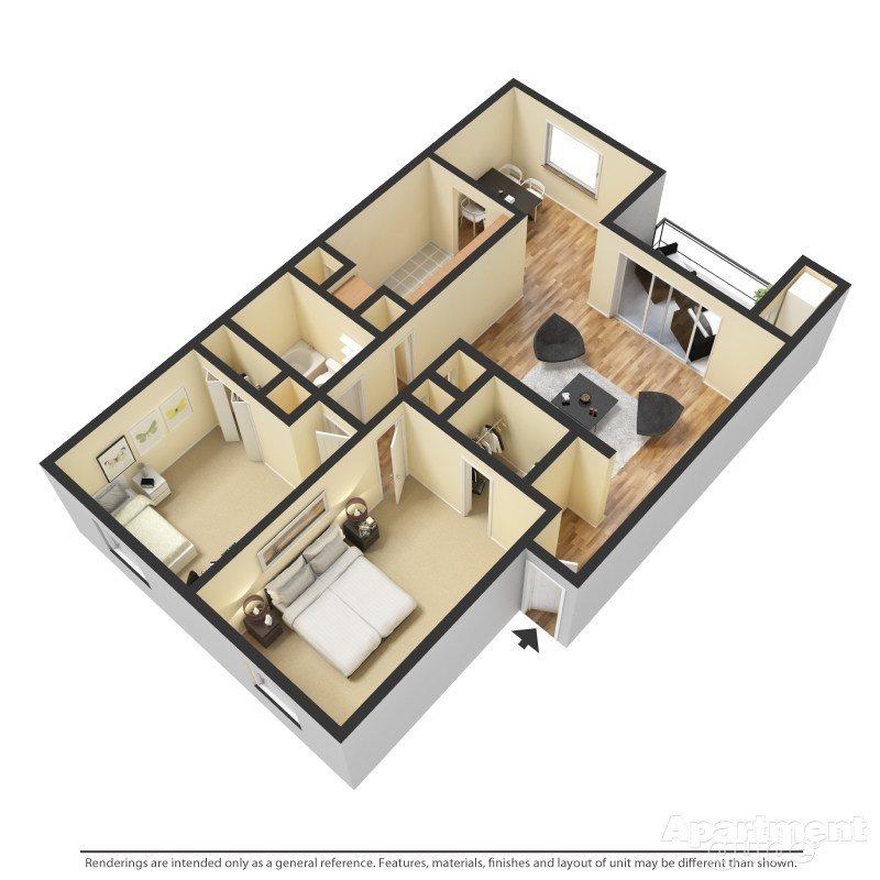 The Maple Floor Plan 4