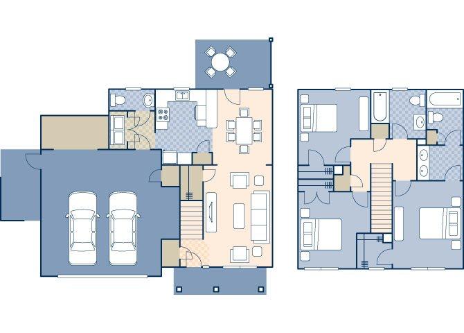 Beale East 1630 Floor Plan 1