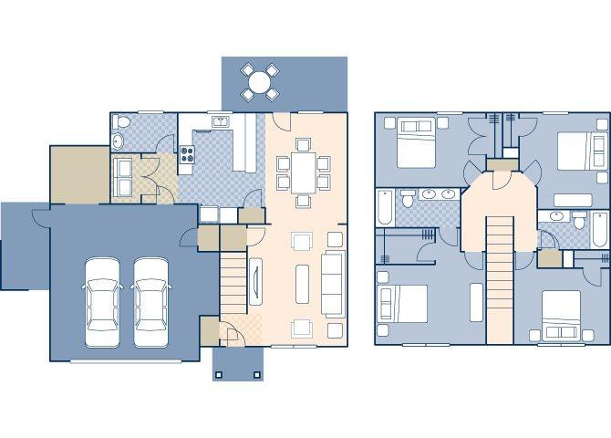 Beale East 1950 Floor Plan 4
