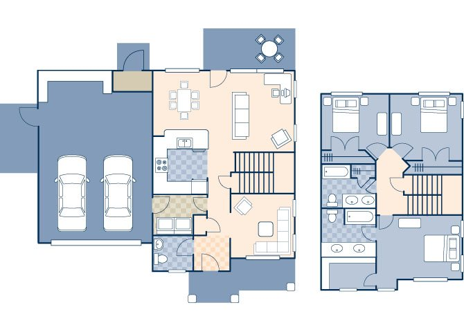 Beale West 1860 Floor Plan 8
