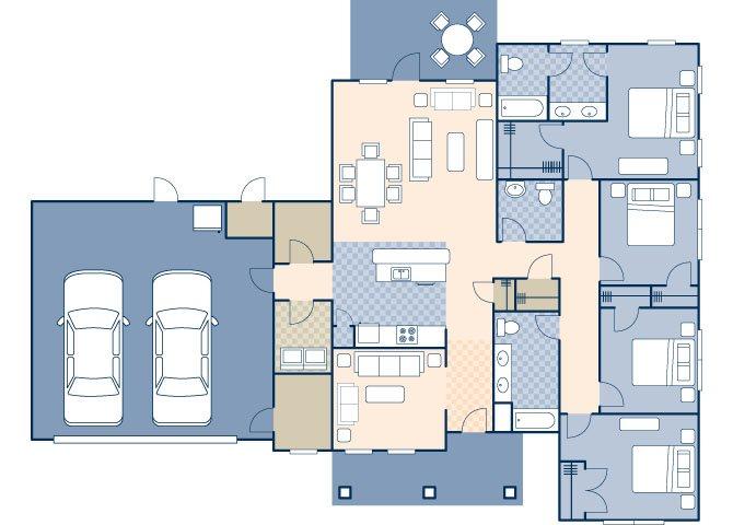 Beale West 2150 ADA Floor Plan 11