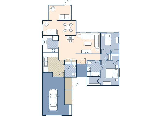 Brookview 992 Floor Plan 15