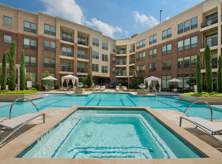 pool area Apartments in Katy