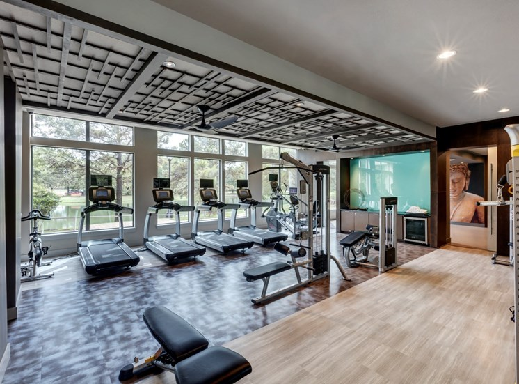 fitness center apartments in katy
