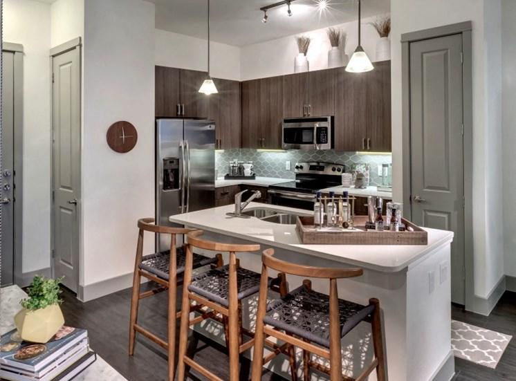 kitchen apartments in katy