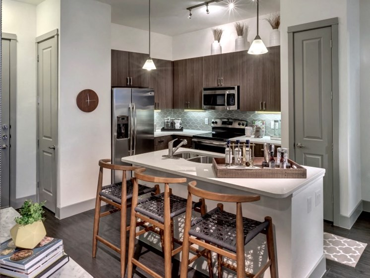 kitchen apartments in katy