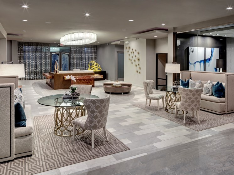 lobby apartments in katy