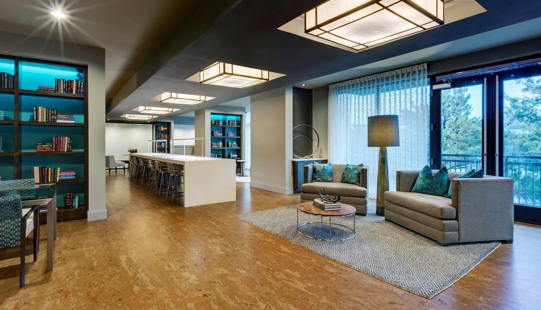 lobby area apartments in katy
