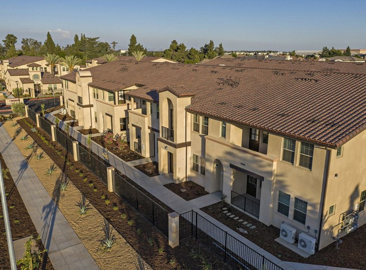Aerial View of Building on Copper Avenue at Tempranillo Apartment Homes