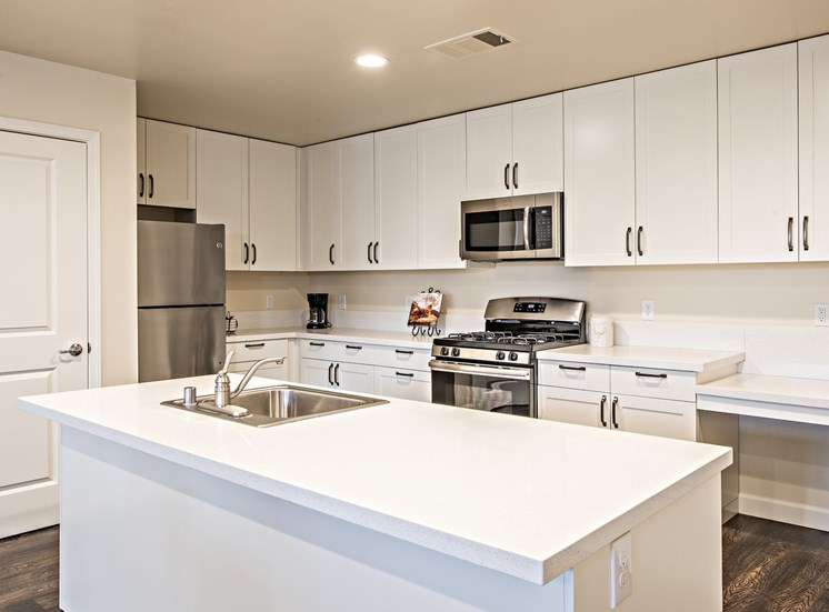 Kitchen with Island at Tempranillo Apartment Homes