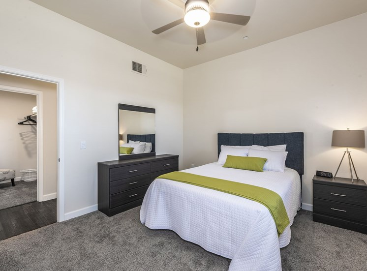 Bedroom with Furniture at Tempranillo Apartment Homes