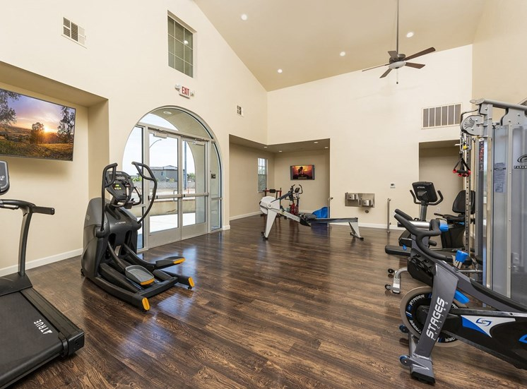 Gym and Gym Equipment at Tempranillo Apartment Homes