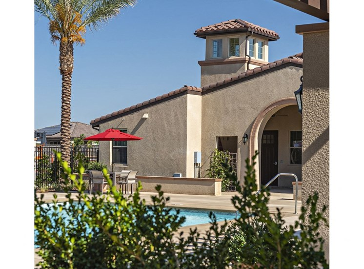 View of Pool with Landscaping at Tempranillo Apartment Homes