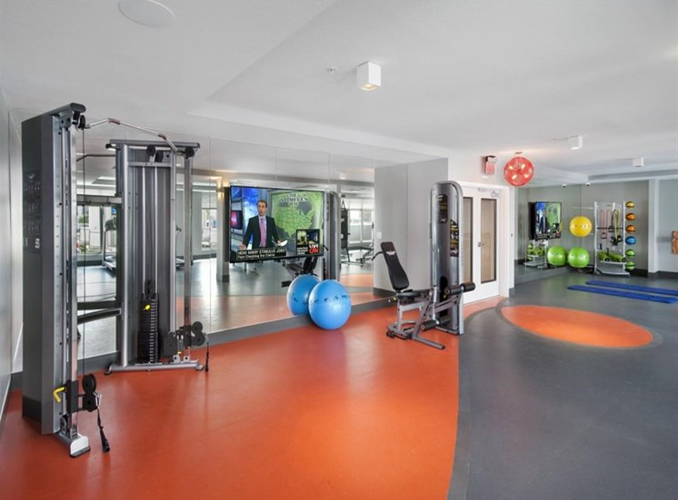 Fitness Club at SofA Downtown Luxury Apartments, Delray Beach, 33483