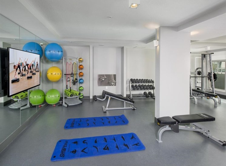 High Endurance Fitness Center at SofA Downtown Luxury Apartments, Delray Beach,Florida