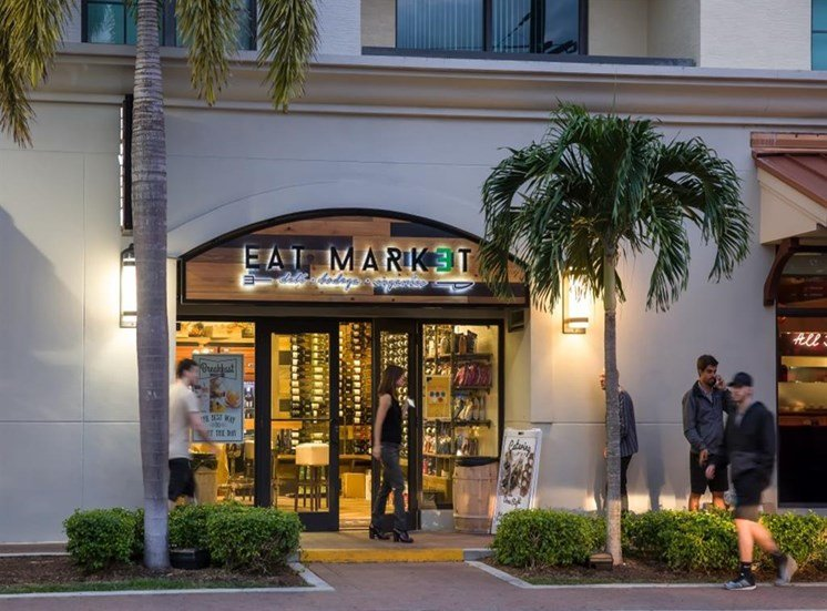 Nearby Restaurants at SofA Downtown Luxury Apartments, Delray Beach