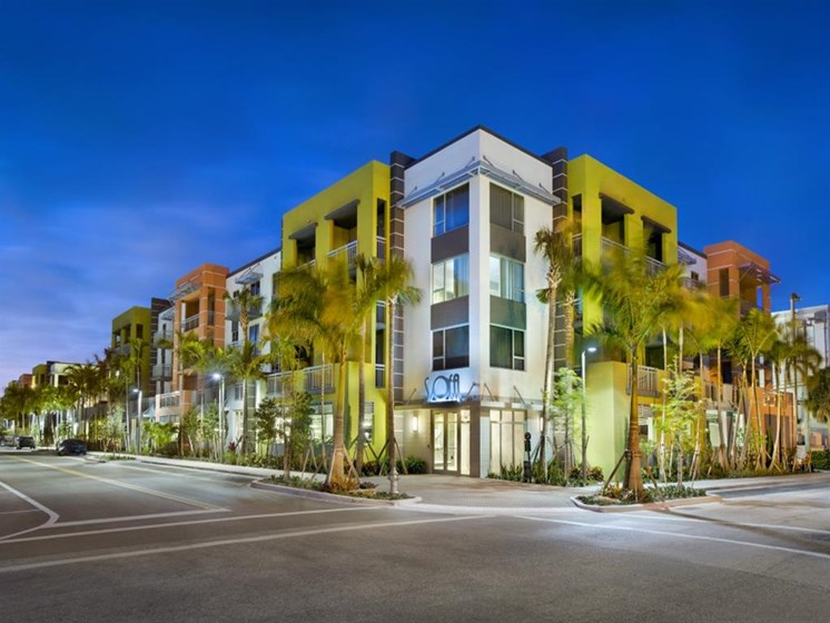 Beautiful Construction at SofA Downtown Luxury Apartments, Delray Beach, FL