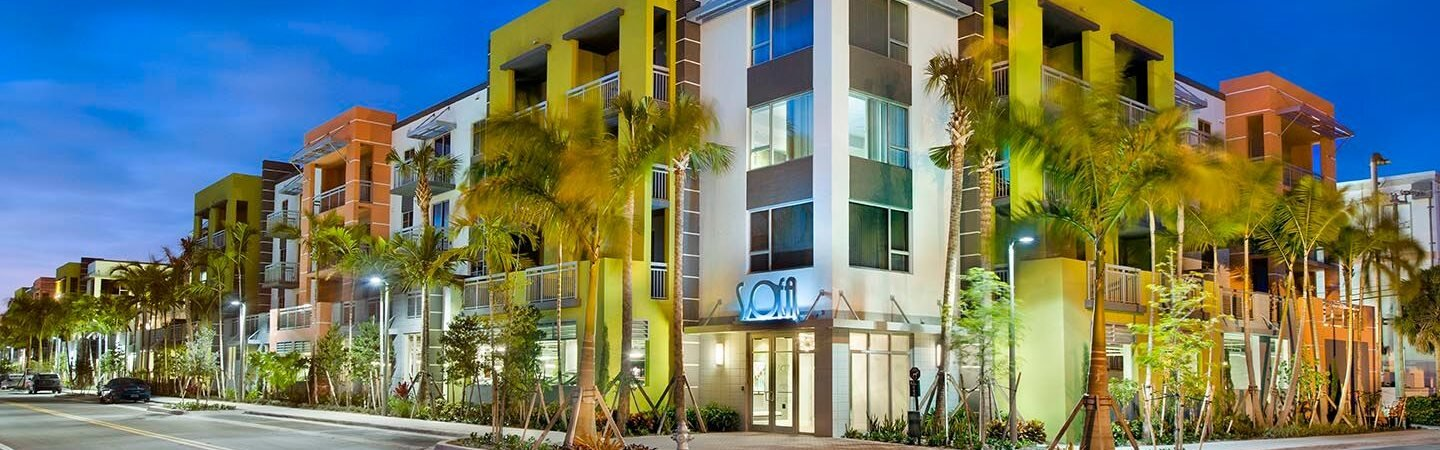 Renovated Building at SofA Downtown Luxury Apartments, Delray Beach, 33483
