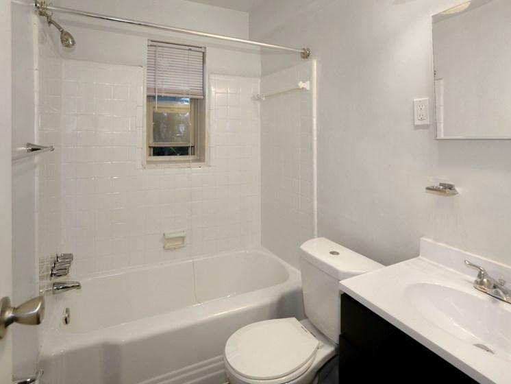 full bathroom with vanity