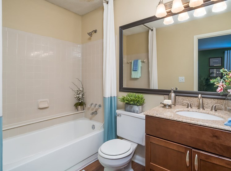 Model Apartment Bathroom