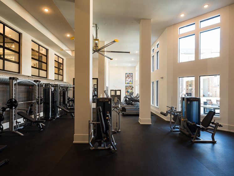 Huge Fitness Center, at The Kirkwood, 71 Howard Street SE