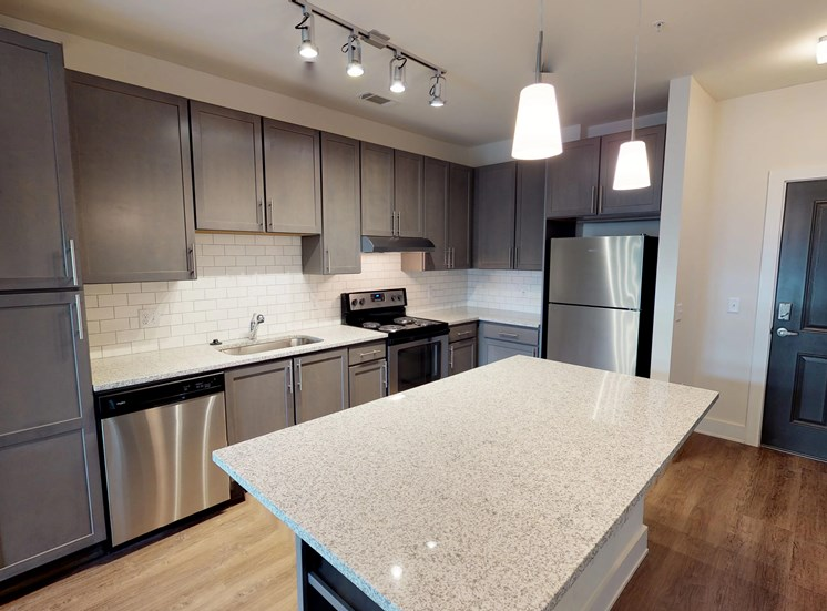 Luxury Apartments in Kirkwood | The Kirkwood Apartments | Island Kitchens