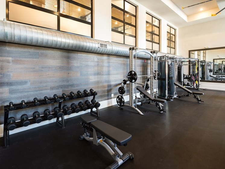 State of the Art Fitness Center, at The Kirkwood, Georgia, 30317