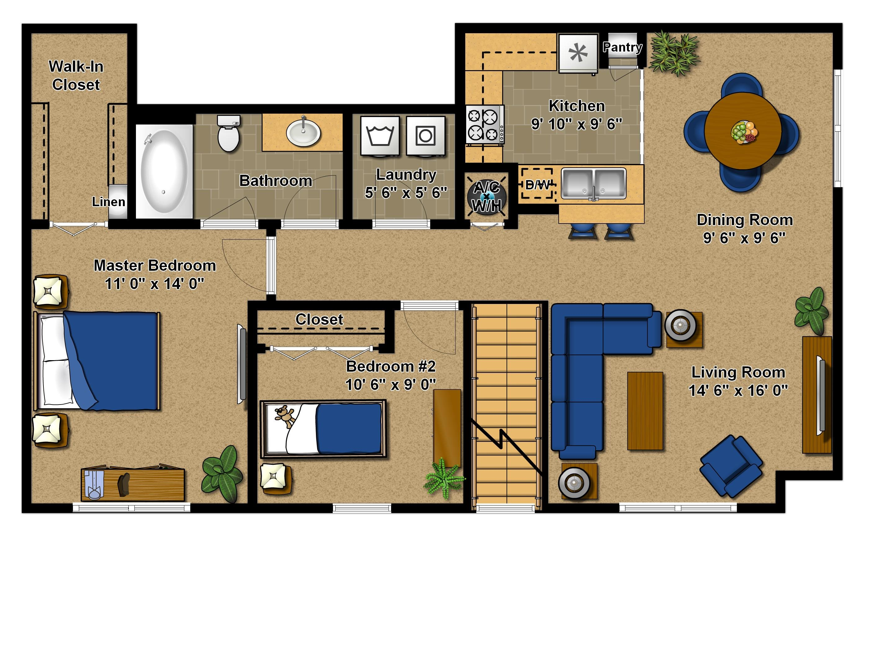 Buttonwood Floor Plan 2